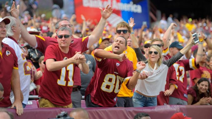 VEGAS MAKES WOEFUL REDSKINS 3RD PICK