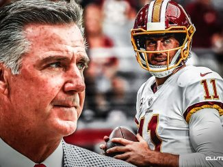 REDSKINS ALLEN PISSES ON 'ALEX SMITH