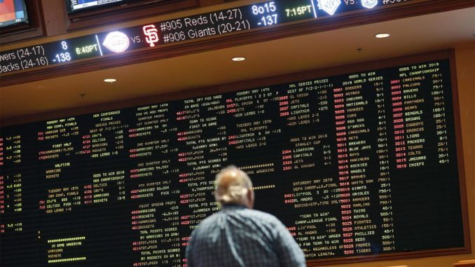 PRO LEAGUES WANT PIECE OF THE ACTION FROM SPORTS BETTING