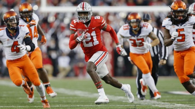 REDSKINS SHOULD BE WATCHING OHIO STATE WR CAMPBELL