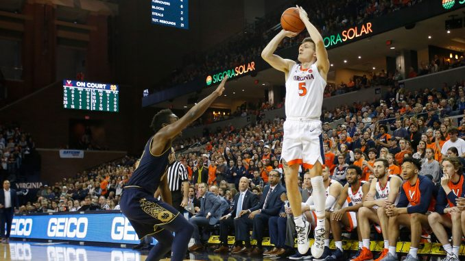 WATCH VIRGINIA'S KYLE GUY BANG IN 20 TWICE IN A ROW